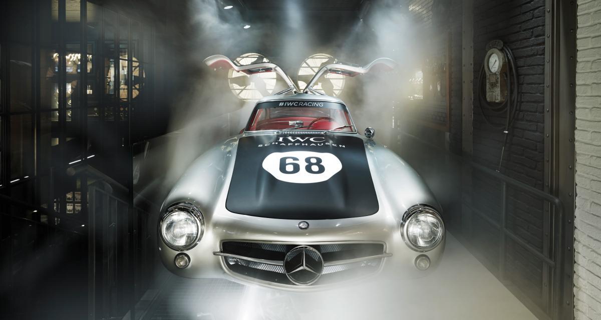 IWC nous plonge au cœur de son histoire dans le sport automobile avec une boutique dédiée