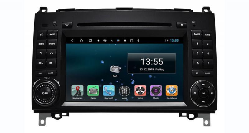 ESX commercialise un autoradio GPS Android pour le VW Crafter