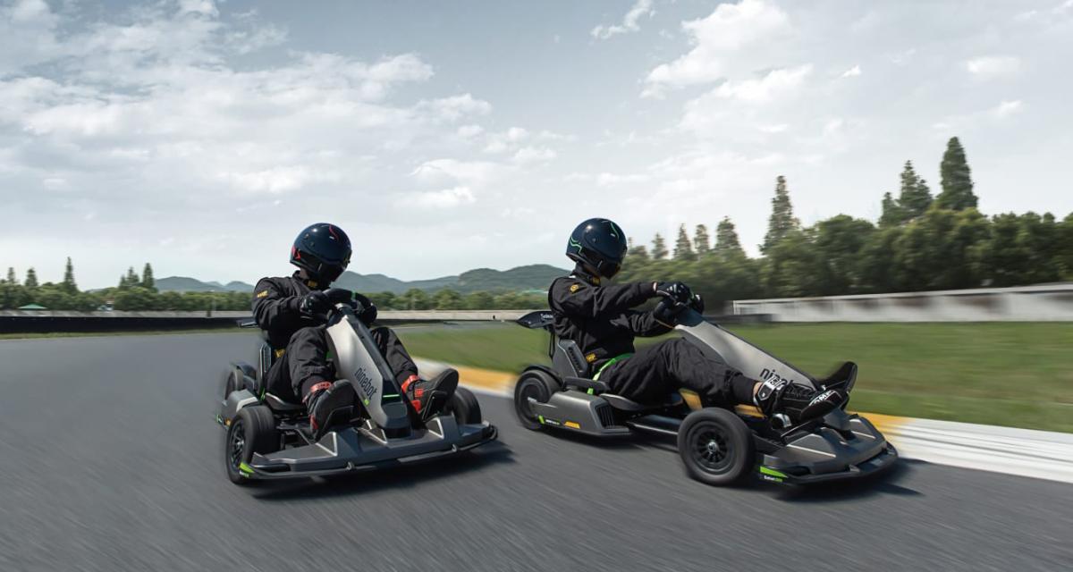 Ninebot Kart Pro : le kart électrique qui cartonne sur Kickstarter (vidéo)