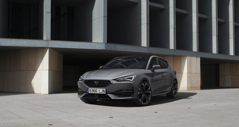 Nouvelle Cupra Leon hybride rechargeable : les prix de la compacte sportive