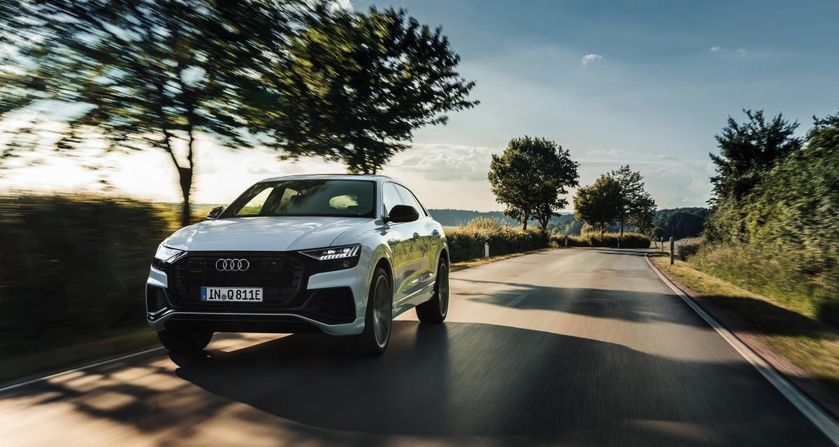 Audi Q8 TFSI e quattro : le SUV coupé propre et sans malus