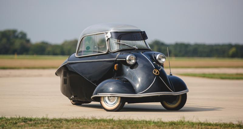 Messerschmitt KR 175 : la microcar allemande futuriste des années 50