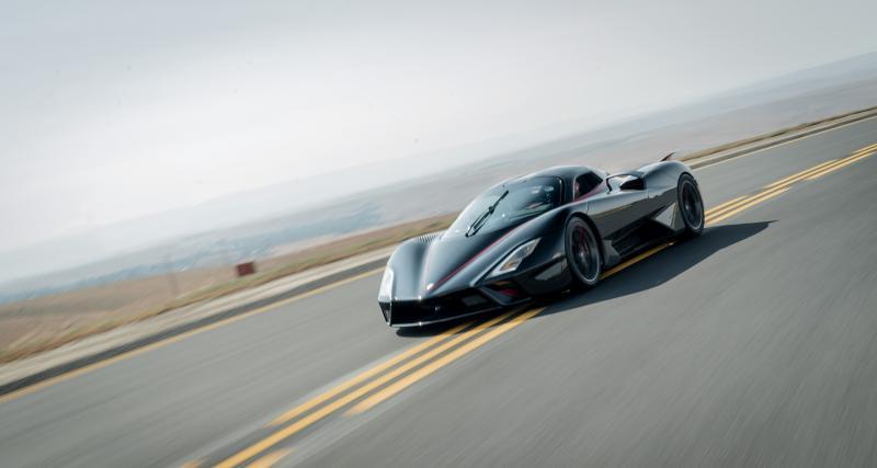 Record du monde de vitesse : la SSC Tuatara est-elle devenue la voiture la plus rapide du monde ?