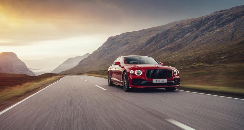 Bentley Flying Spur (2021) : maintenant disponible en V8 de 550 ch