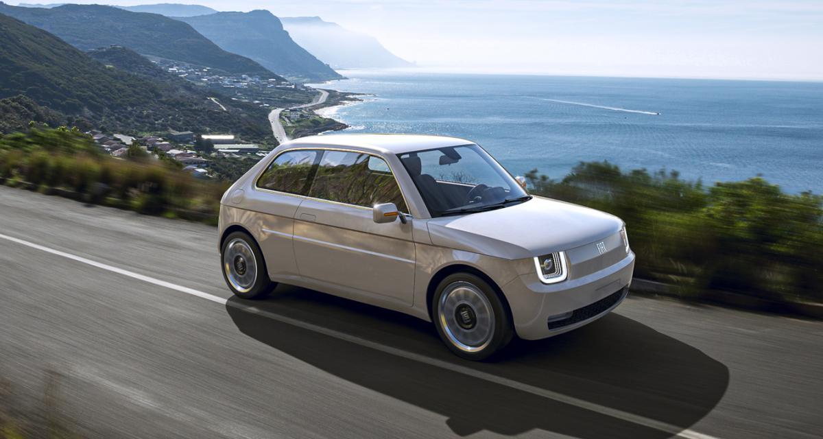 Fiat 126 Vision : l'emblématique citadine italienne revisitée