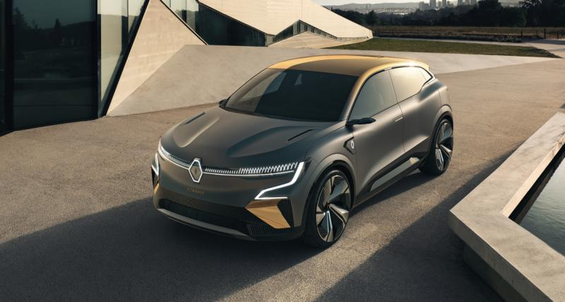 Renault Mégane eVision : la promesse d'un futur sous le signe de l'électricité