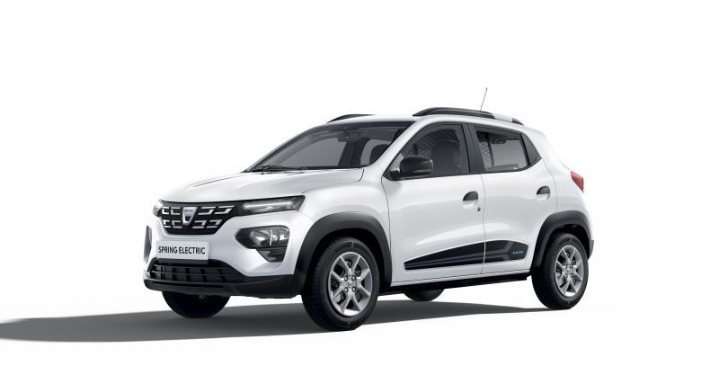 Dacia Spring Electric Cargo : l'électrique pas cher pour les professionnels aussi