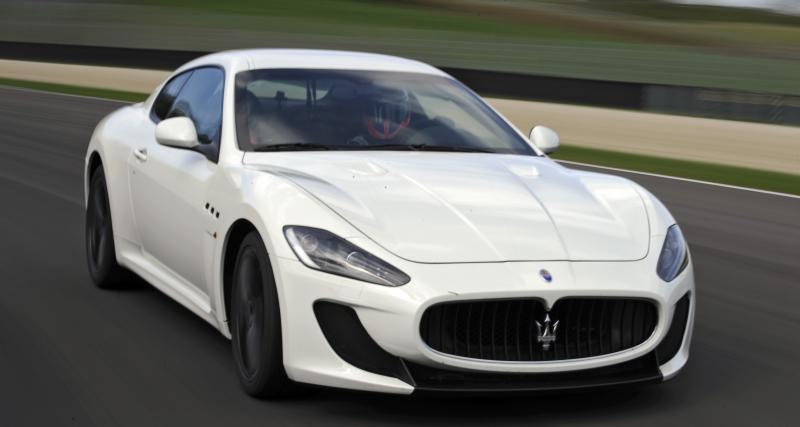 La Maserati Gran Turismo MC Stradale