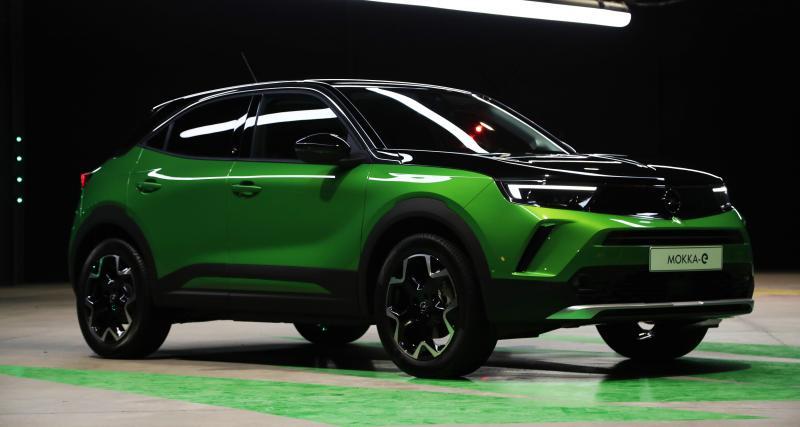 Opel Mokka-e : nos photos du SUV électrique