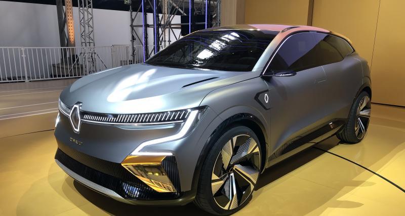 Renault Mégane électrique : nos photos du concept eVision