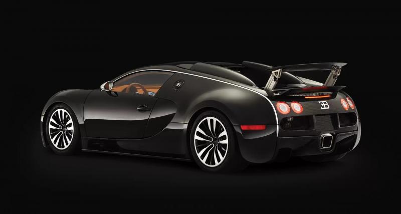 """Une Bugatti """"sang noir"""""""