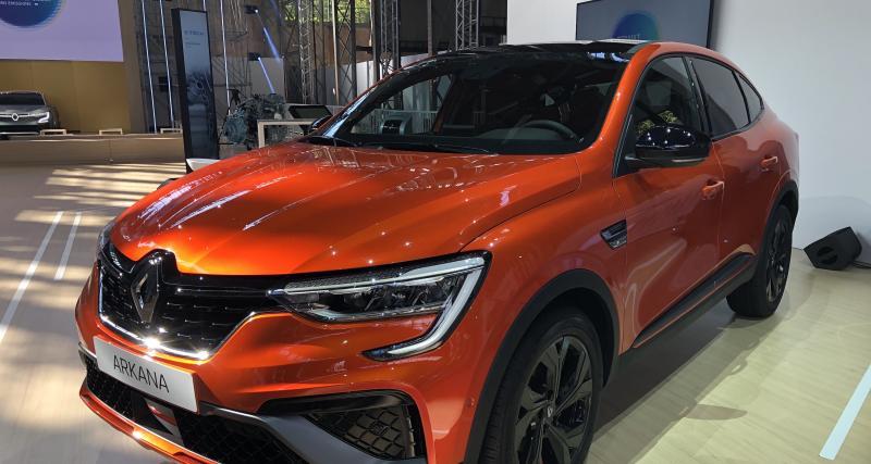 Renault Arkana (2021) : nos photos du SUV coupé