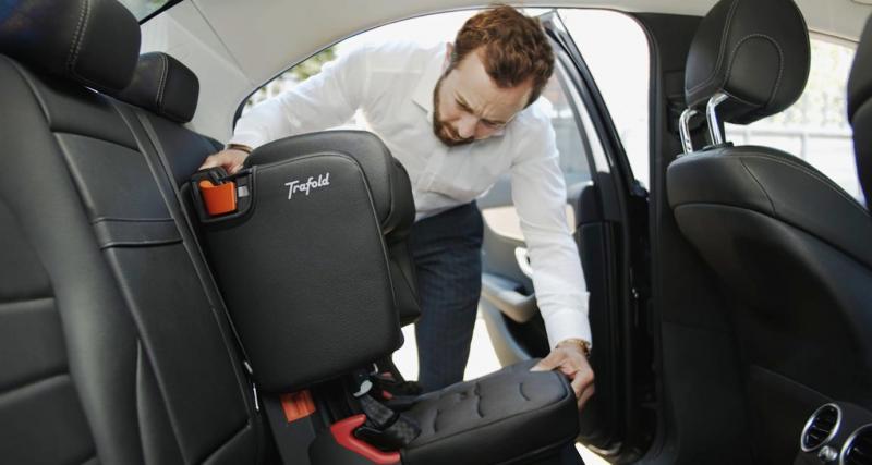 Taxie : la révolution du siège auto pour les parents (vidéo)