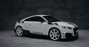 """Audi TT RS 40 ans de quattro : l'édition limitée qui se la joue """"Groupe B"""""""