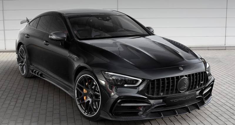 Mercedes AMG-GT 63 S 4 portes Inferno by TopCar : agressivité renforcée grâce au carbone