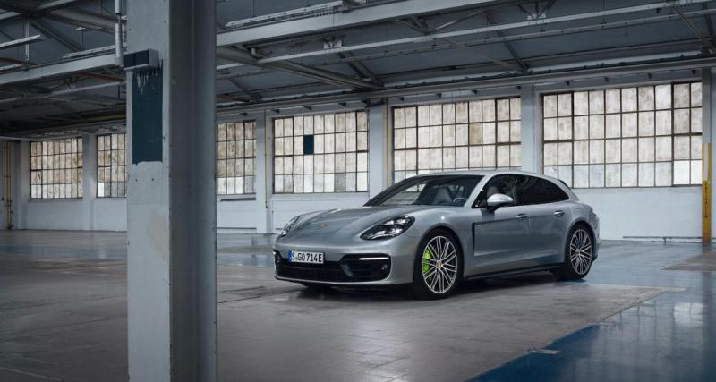 Porsche Panamera restylée (2021) : trois versions supplémentaires dont deux hybrides rechargeables