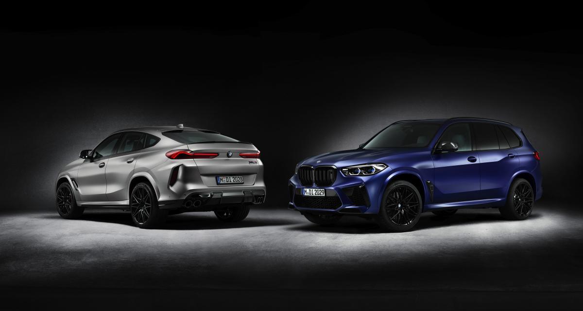 """BMW X5 et X6 M Competition """"First Edition"""" : nouvelle série limitée pour les mastodontes"""