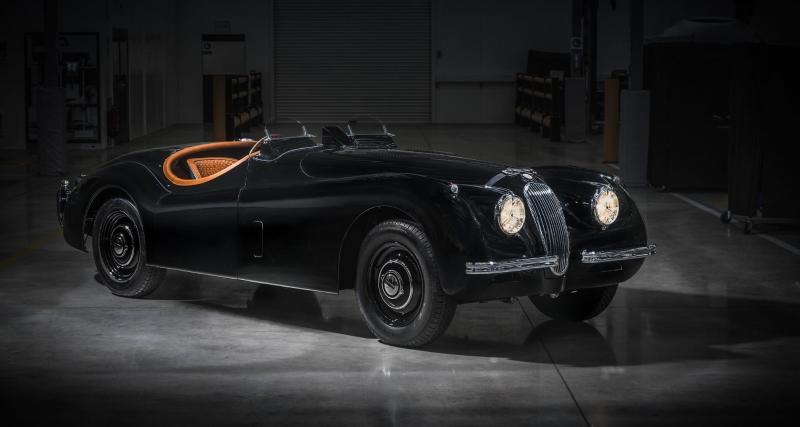La Jaguar XK120 (1949)