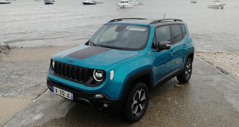 Essai nouveau Jeep Renegade 4xe : du jus et du style