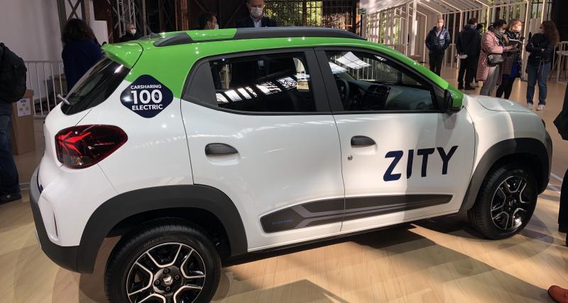 Spring, un concentré électrique de Dacia