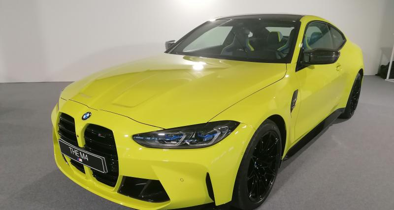 BMW M4 Competition : nos photos du coupé de 510 chevaux