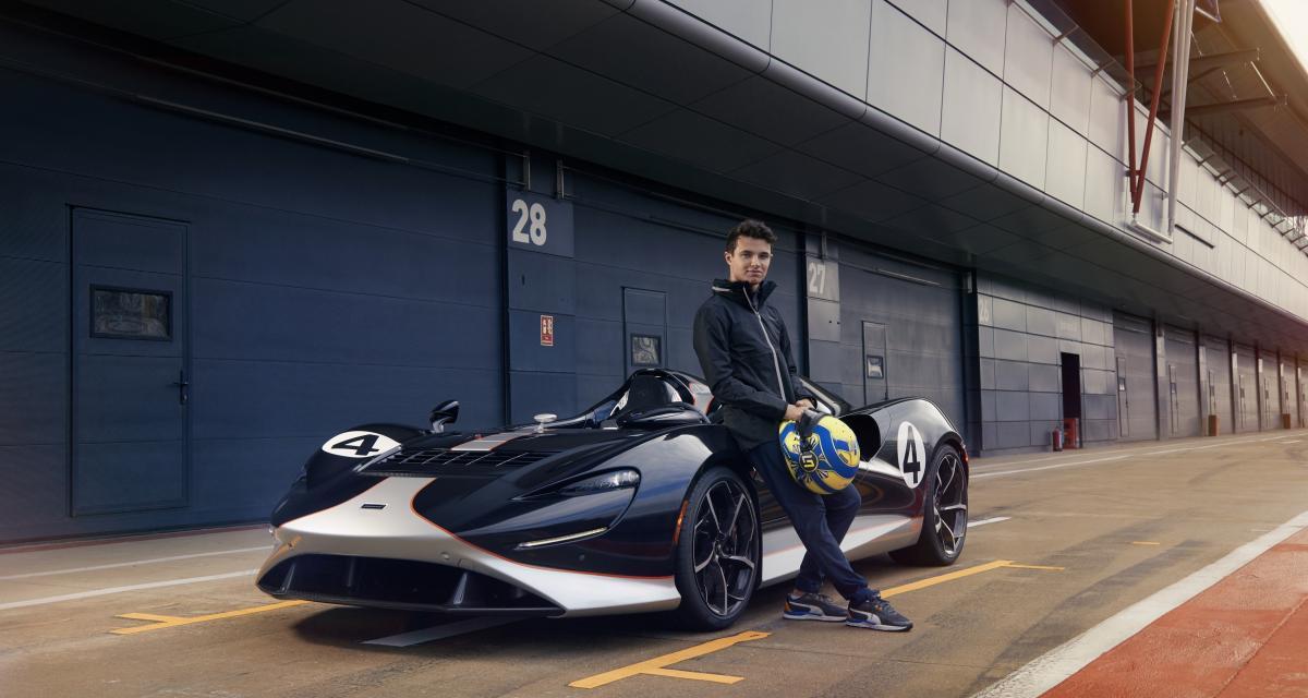 Le pilote de F1 Lando Norris met à l'épreuve la nouvelle McLaren Elva (vidéo)