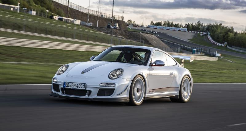 Une Porsche 911 GT3 RS 4.0