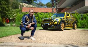 Avis à tous les fans de foot et de voitures : ! La Mini Cooper de Dani Alves est à vendre !