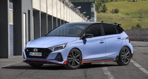 Hyundai i20 N (2021) : une citadine survoltée inspirée par le rallye