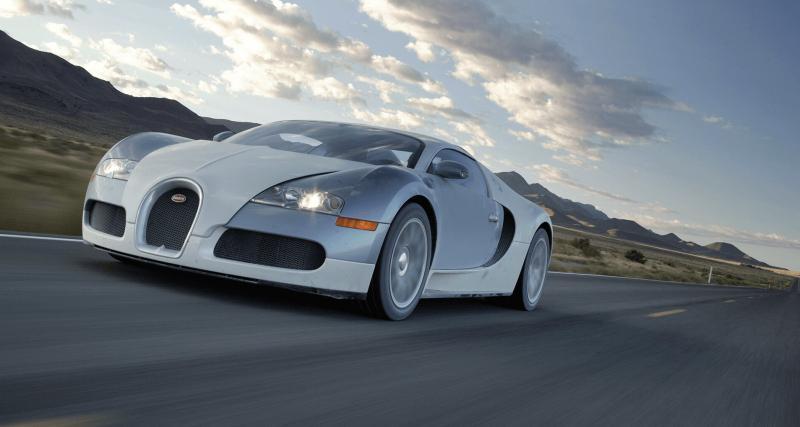 Une Bugatti Veyron