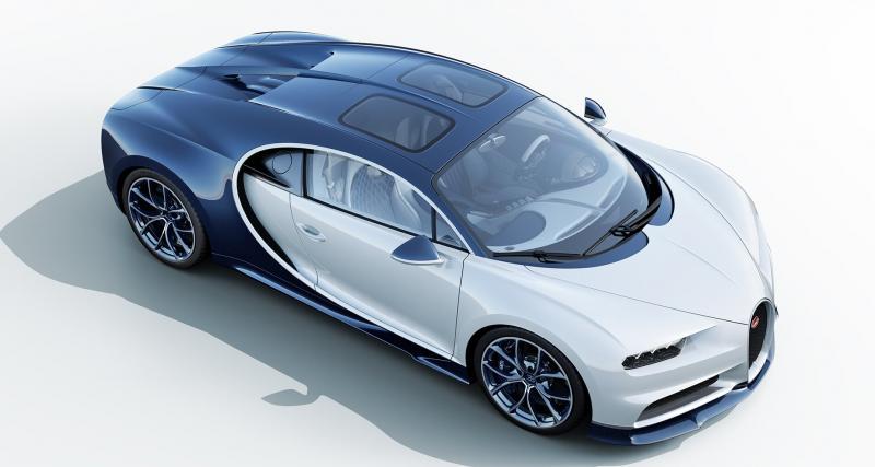 Une Bugatti Chiron