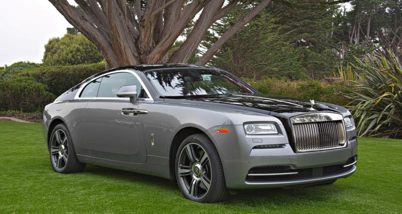 Une Rolls-Royce Wraith