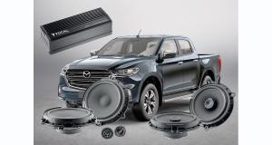 Focal dévoile un pack hi-fi « plug and play » pour le pick-up Mazda BT 50