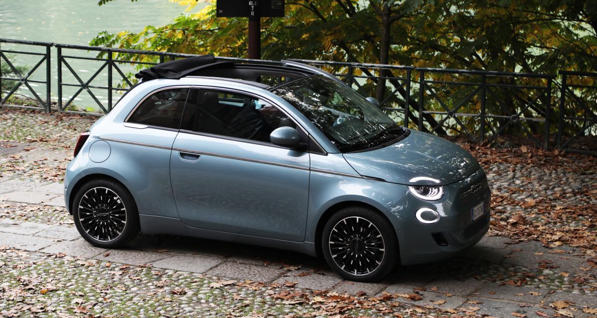Essai de la Fiat 500 électrique : nos photos de l'italienne électrifiée