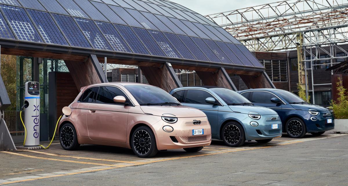 Fiat 500 électrique : les prix de la citadine