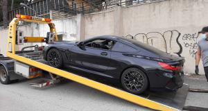 Excès de vitesse à 195 km/h sur la RN113 en BMW M8