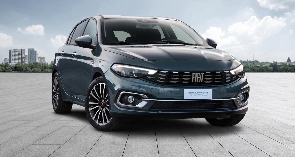 Fiat Tipo (2021) : rafraîchissement de mi-carrière pour la compacte italienne