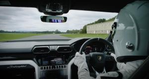 Immersion aux côtés du Stig qui s'attaque au circuit Top Gear dans un Lamborghini Urus (vidéo)