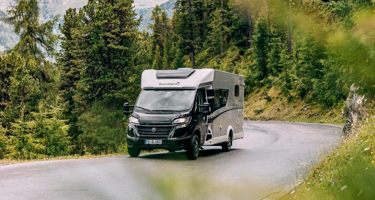 Camping-car Sunlight Profilés Edition : explorateurs du bout du monde