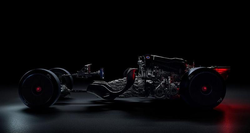 À moins de 24 heures de la présentation de la nouvelle Bugatti, une nouvelle image intrigue