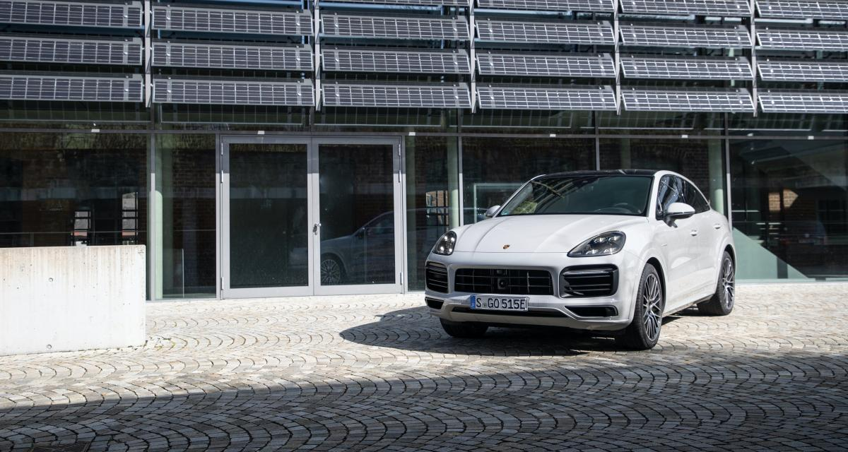 Porsche Cayenne E-Hybrid (2021) : une nouvelle batterie pour une meilleure autonomie