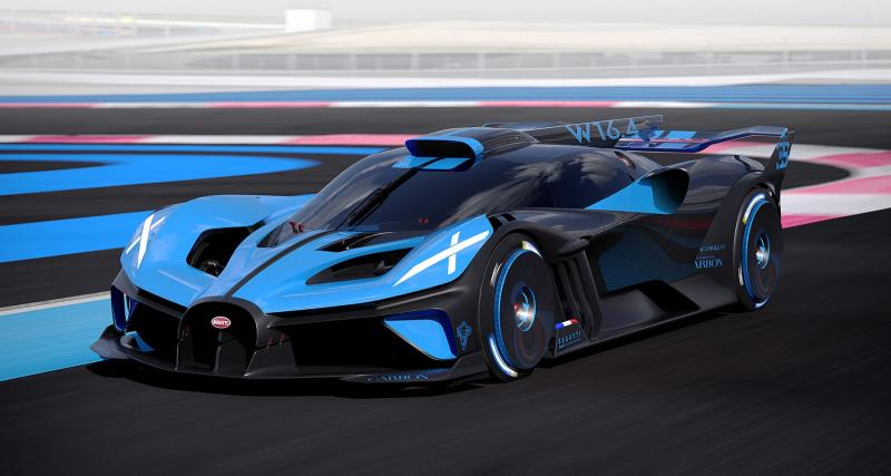 Les principales concurrentes de la nouvelle Bugatti Bolide