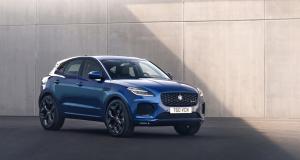 Jaguar E-Pace (2021) : restylage léger et nouvelle version hybride rechargeable