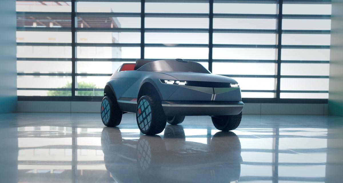 Hyundai sort un nouveau modèle du Concept 45 pour les enfants (vidéo)