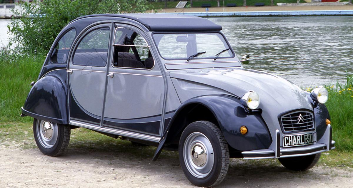 Citroën 2 CV Charleston : elle fête ses 40 ans cette année !