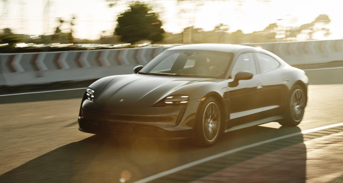 Porsche fait les choses en grand pour la sortie du Taycan 4S (vidéo)