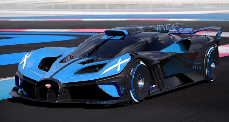 Apprendre à connaître la nouvelle Bugatti Bolide en 7 chiffres clés