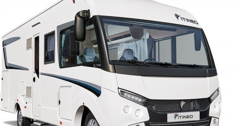 Camping-car Itineo Traveller TC740 : partir un jour, sans retour