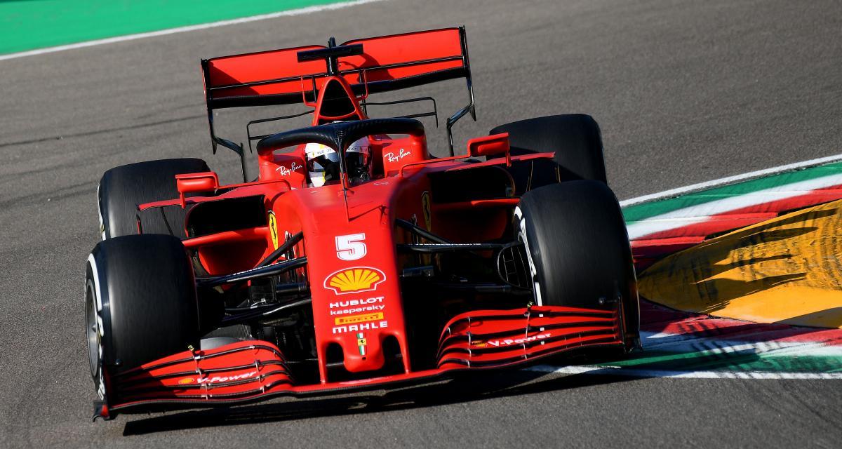 GP d'Émilie-Romagne de F1 : le très long passage au stand de Vettel en vidéo