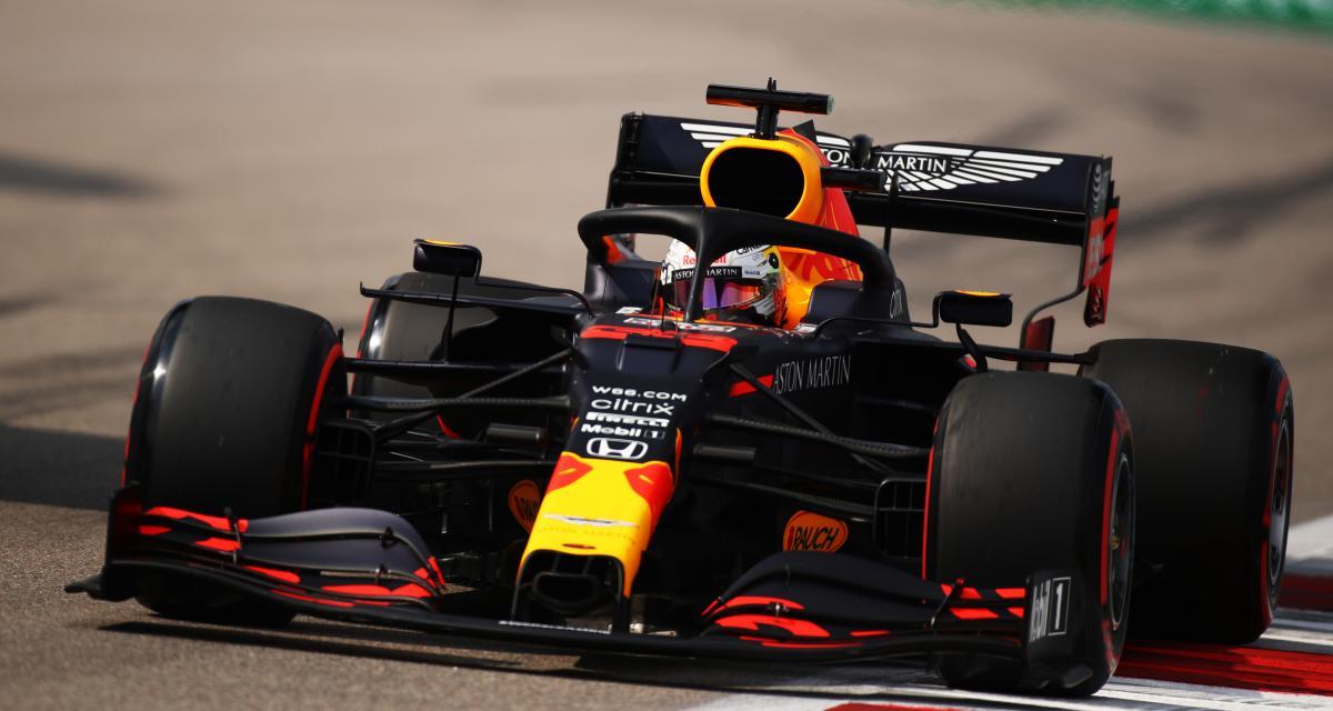 GP d'Émilie-Romagne de F1 : la crevaison de Max Verstappen en vidéo